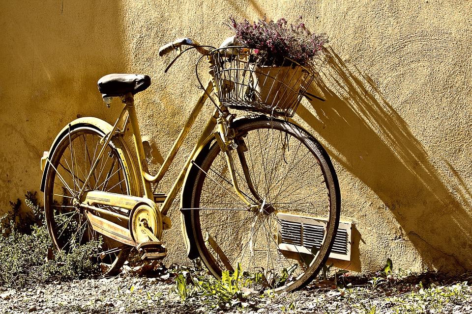 sonhar com bicicleta