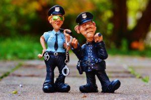 sonhar com polícia