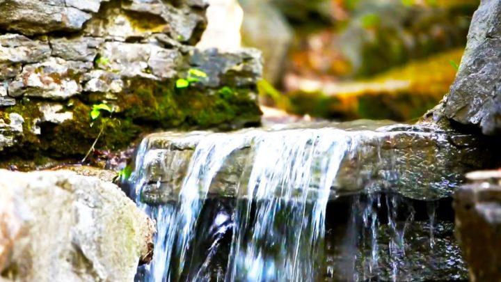 sonhar com água limpa