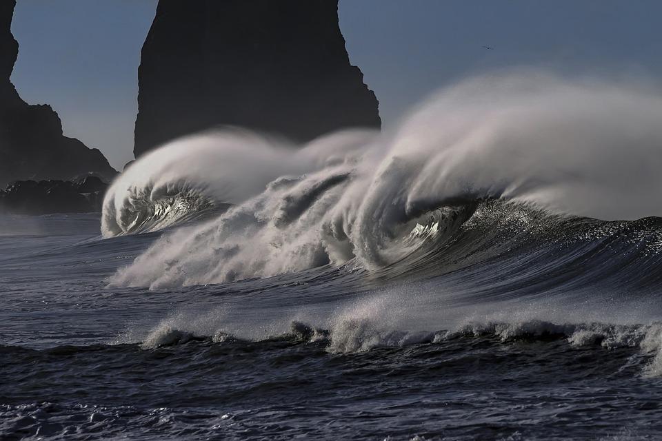 sonhar com ondas