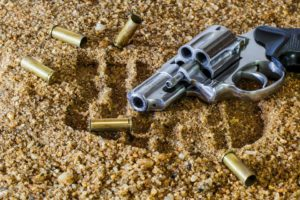 sonhar com revólver