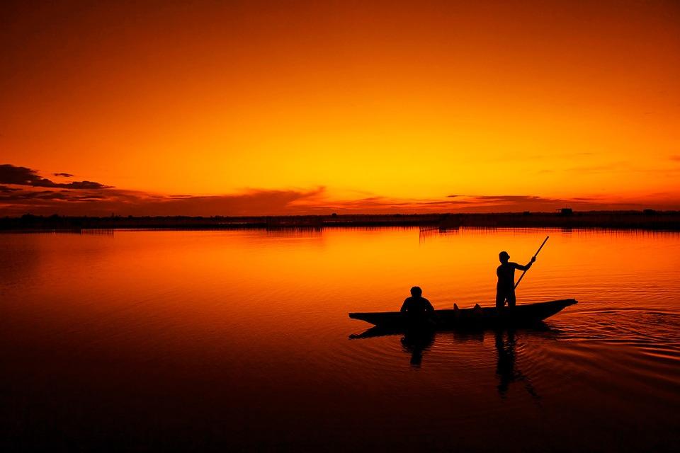 sonhar que está pescando