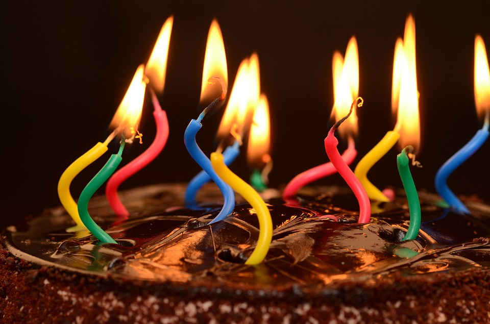 sonhar com aniversário