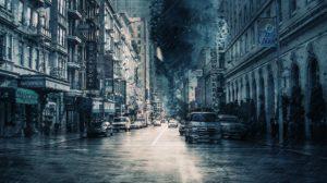 Sonhar com chuva de pedra
