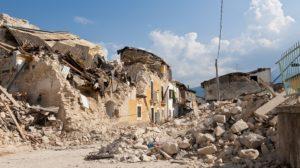 Sonhar com terremoto