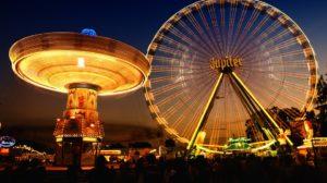 Sonhar com parque de diversões