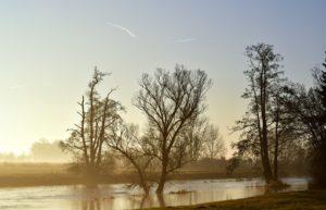Sonhar com inundação de água