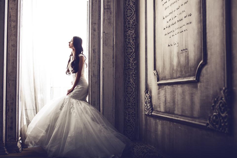 Sonhar que está vestida de noiva